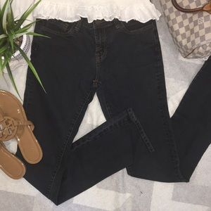 J Brand Washed Black Jeggings